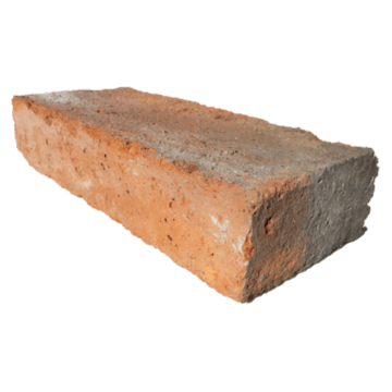 Brick for rustic wall